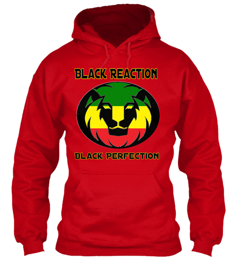 Black Reactrion Black T shirt Lion logo